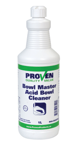 Proven Bowlmaster High Acid Bowl Cleaner Proven Products