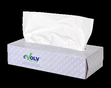 eVolv Elite 2 Ply Premium Facial Tissue 30/100
