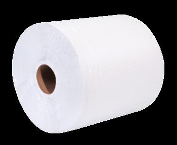 eVolv Elite White Roll Towel 800'