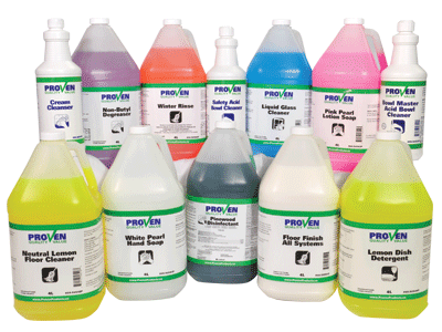 Janitorial And Sanitation Products Proven Products